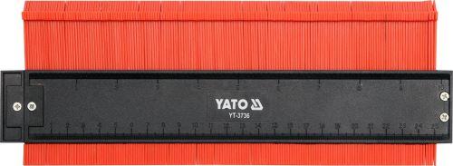 Yato Šablona na profily 260 mm magnetická YT-3736