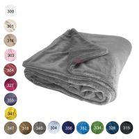 Aesthetic Deka zimní oboustranná - 100x150cm - mix barev Barva: 354 - korálová