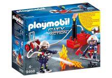 Playmobil 9468 Hasiči s čerpadlem a vodní pumpou