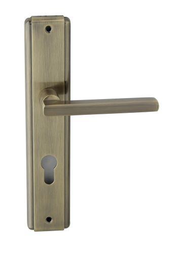Vchodové kování JANE K+ K Klika dlouhý štít vchodová