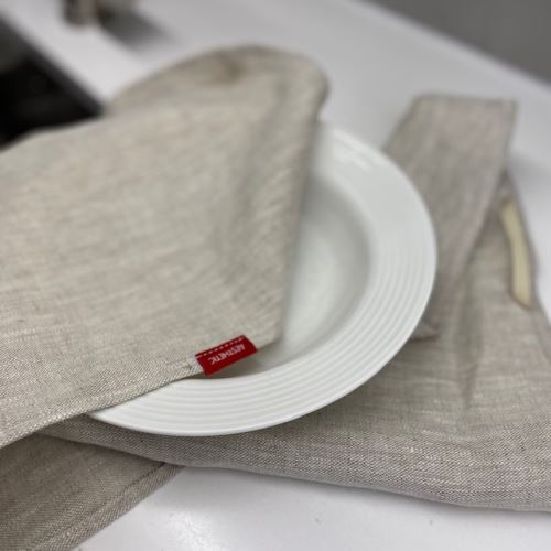 Aesthetic Lněná utěrka - 100% len, gramáž 245g/m2 - Oatmeal