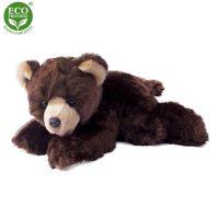 Plyšový medvěd ležící 32 cm ECO-FRIENDLY (8590687341838)