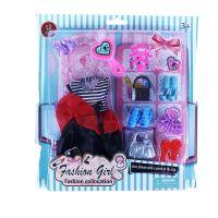 Obleček pro panenky s doplňky (8590687195332)