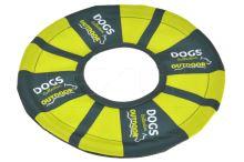 Házecí hračka pro psy DOGS (25cm) - Zelená - 8719987076787