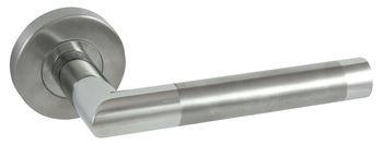 Dveřní dělené rozetové nerezové kování SIENA-R