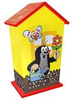 Dřevěná pokladnička Krtek (8590687311107)
