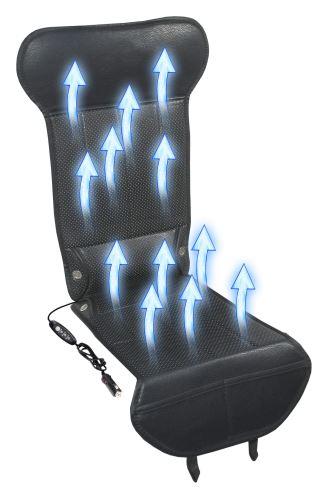 Compass Potah sedadla s ventilací 12V STRICK AIR black 04082