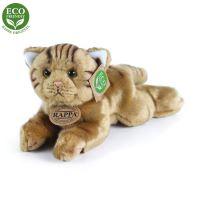 Plyšová kočka ležící 30 cm ECO-FRIENDLY (8590687002890)