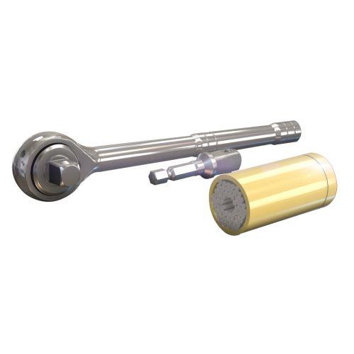 Herzberg HG-5031: Univerzální nástrčkový klíč - 3ks