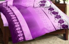 VERATEX Přehoz na postel KREP 240x200 cm (vyberte dezén z nabídky Krepové povlečení)