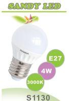 SANDRIA LED žárovka E27 S1130 SANDY LED E27 B45 4W SMD 3000K