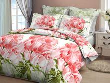 Povlečení z Hladké bavlny Bavlněné povlečení Růže korálová 140x200+70x90