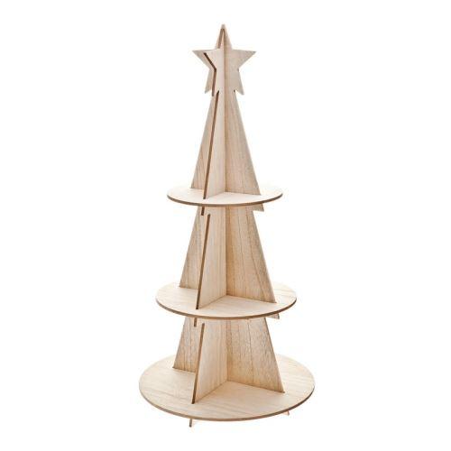 Etažér Stromek skládací, 37x1x80 cm, dřevo