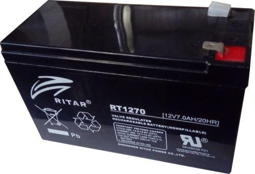 baterie Eurocase NP7-12, 12V, 7Ah (RBC2)